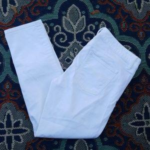 Gap Skinny Jeans White Sz 31/12 Always Skinny EUC